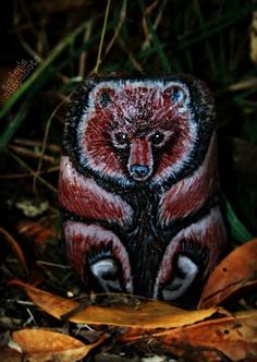 Baby Bear painted rock