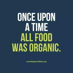 Indeed it was...and now organic is three times the price.