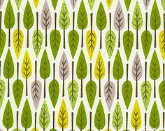 Happy leaf pattern.