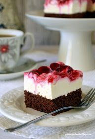 Cake Recipes, Dessert Recipes, Desserts, Polish Recipes, Homemade Cakes, Cheesecake, Food And Drink, Cooking Recipes, Baking