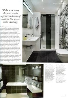 Essential Kitchen Bathroom Bedroom Magazine January 2013