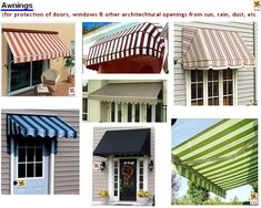 Awning for windows