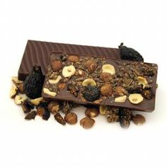 Rawmio Hazelnut Fig and Sprouted Cereal Bark