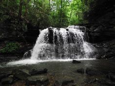 Hacker Valley, WV: Upper Falls-Holly River