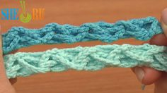 Easy Zigzag Braided Cord Crochet Tutorial 58 Crochet Belts Bracelets  http://sheruknitting.com/videos-about-knitting/romanian-lace-ribbons-and-cords/item/631-crochet-zigzag-braided-cord.html   Simple and super easy to crochet braided cord. Great try for beginner crocheters. Repeat one row all the time until you reach the desired length of the cord: make a ring of chain stitches and double crochet. And then make a nice zigzag braid by pulling each next ring through the one that is before.