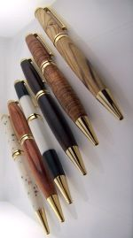Wood Pens - What a great Father's Day Gift!  All the wood has stories.