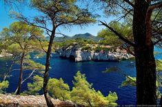 Paysage des Calanques de Cassis 3 - Littoral de Provence, entre Cassis et Marseille :  Le Parc National des Calanques