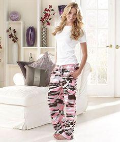Women's Camo Cargo Sweatpant Lounge Pajama Pants [sm981016-9CC9-PKM] - $29.95 : SmartSaver LLC