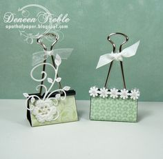 A Path of Paper: Craft Show Binder Clips