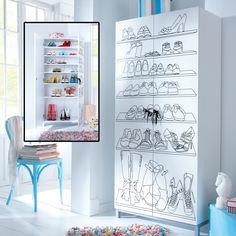 """Schuhschrank """"Carrie"""" im Schneider Online-Shop Carrie, Gallery Wall, Cabinet, Storage, Design, Diy, Schneider, Furniture, Home Decor"""