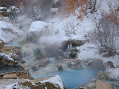 Yeah, we know it's freezing in Utah, but that doesn't mean that you have to freeze too. In fact, if you're looking for a little rejuvenation, these six hot springs are bound to give you that physical ...
