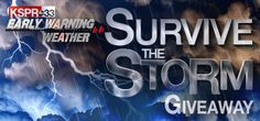 KSPR Storm Shelter Giveaway   http://ky3.secondstreetapp.com/KSPR-Storm-Shelter-Giveaway-2017/referrals/6576c004-9230-4b5c-9340-5944c4cdc5cc