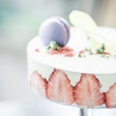 "[Cafe NAKANOYA] Machida Tokyo. ""Strawberry Parfait Fraisier style"". Where can we get such a artistic glass. -- About account:I take a picture of the aesthetic appearance of sweets. -- 東京 町田 [カフェ 中野屋] パフェ祭第3弾はまるでケーキのように仕立てられた""苺とイチゴのソルベストロベリーマルメラータとシチリア産ピスタチオのいちごづくしパフェ フレジェ風""こんな凄い器どこに行ったらあるんでしょう笑 -- アカウントについて:スイーツが持つ美しさを写真で伝えてます -- #igersjp #instagramjapan #instafood #instagood #instasweets #foodstagram #beautifulcuisines #photooftheday #feedfeed #f52grams #webstagram #icu_japan #follow #food…"