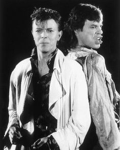 david bowie and mick jagger | David Bowie & Mick Jagger – Free listening, concerts, stats ...