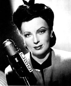 Fred Allen's Old Time Radio Home: Suspense The Thirteenth Sound with Agnes Moorehead Radios, Agnes Moorehead, Old Time Radio, Orson Welles, People Of Interest, Old Tv, Vintage Hollywood, Actors & Actresses, Singer