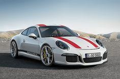 """ポルシェ、""""GT3 RS""""のエンジンを受け継いだ新型「911 R」を991台限定発売 - Car Watch"""