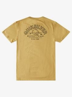 quiksilver, Slow Waves T-Shirt, FALL LEAF (yjg0)