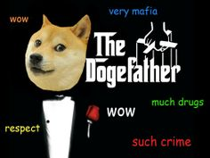 Dogefather so sneaky wow Hilarious Pictures, Hilarious Animals, Funny Pets, Cute Animals, Life Memes, Dankest Memes, Doge Meme, Super Funny Memes, Shiba Inu