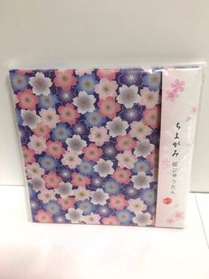DAISO JAPAN Origami Chiyogami Sakura Cherry Blossoms Carpet F/S #Daiso