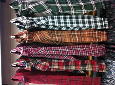 Men's flannels in stores now. Only $14 -as
