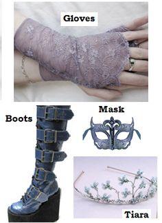 Alyssa's prom accessories