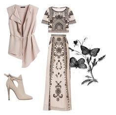#028 by cold8soul on Polyvore featuring polyvore, fashion, style, Temperley London, White House Black Market, Jimmy Choo and clothing