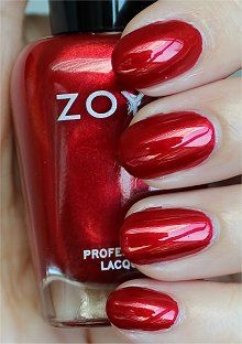 Zoya - Elisa - I may have finally found the red to replace OPI I'm Not Really a Waitress. This red is amazing!!!