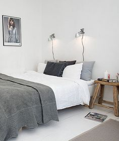 Neutral bedroom details #scandinavianhome #interiorinspiration