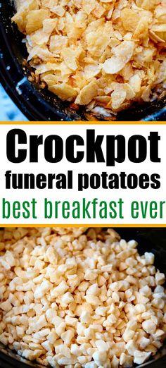 Brunch Recipes, Fall Recipes, Breakfast Recipes, Dessert Recipes, Dinner Recipes, Best Crockpot Recipes, Slow Cooker Recipes, Crockpot Ideas, Crock Pot Potatoes