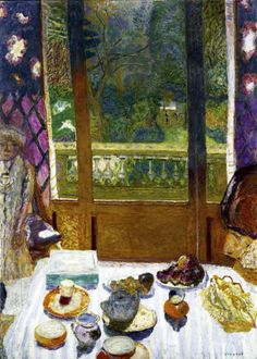 "Pierre Bonnard: ""Dining Room with Garden""."