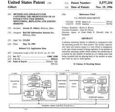 #innovation: do you ever allow remote access your computer? Here is a #patent that helped make it possible.   Protect your IP in Canada: www.wilsonpatents.com