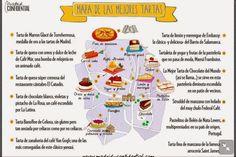 Solo para golososos: Mapa de Madrid de las mejores tartas
