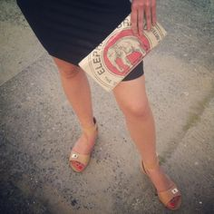 Clutch bag from #mangostinme