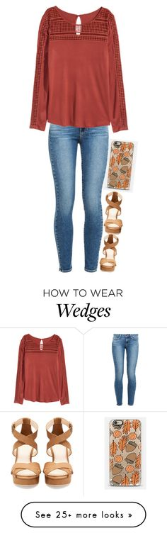 """""""Heyyyy"""" by meljordrum on Polyvore featuring Casetify, Pull&Bear, Paige Denim and H&M"""