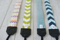 Cute Camera Strap Chevron SALE  Fits most cameras  by CameraCoats