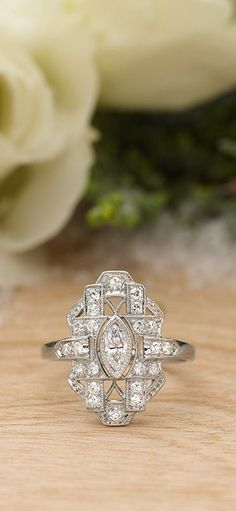 Antique Diamond engagement rings designed by Brilliant Earth