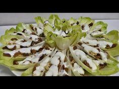 سلطة الأنديف بالمكسرات و الفواكه الجافة مفيدة سهلة و لذيذة جدا Salad Vegetables Food Cabbage