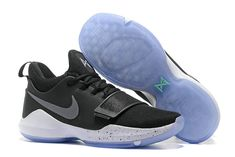 09fd0804d9b4 Size Euro 41 Nike PG 1 Paul George Sneakers 2018 Black ICE Paul George  Sneakers