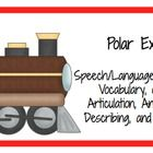 Speech and Language Activities to accompany the book Polar Express.    Preview download includes regular and irregular plurals inspired by the book. ...