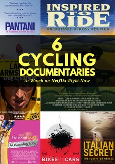 Have you seen these cycling documentaries yet? 6 Cycling Documentaries to Watch on Netflix Right Now http://www.active.com/cycling/articles/6-cycling-documentaries-to-watch-on-netflix-right-now?cmp=17N-PB33-S32-T9-D1--52