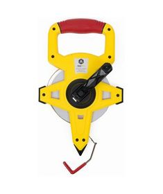 Empire 300 ft Ergonomic Durable Standard Open Reel Fiberglass Tape Measure