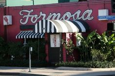 Formosa Cafe http://www.thepurplepassport.com/picks/los-angeles/Nightlife/formosa-cafe/ in #LA