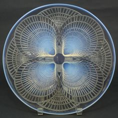 LALIQUE COQUILLES OPALESCENT SHELLS PLATE