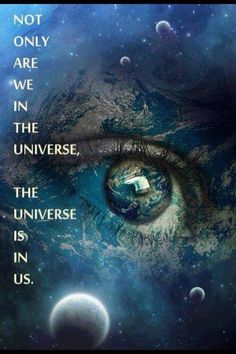 """@Jayshree Kumar: RT @Michael Jacobs: Not only are YOU in the Universe, the Universe is in you :)   Namasté pic.twitter.com/2rxlGqANzS""xoxo"