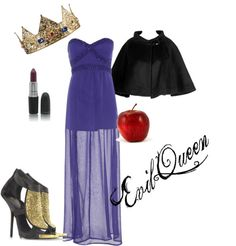 Disney Villains DIY Halloween Costume Guide: Evil Queen Look