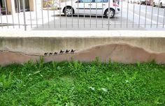 """Oakoak da IL RAMO D'ORO """"Street Art"""" https://ilramodoro-katyasanna.blogspot.it/2013/11/street-art.html"""