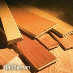 How to Buy Wood Flooring. This is an important and often costly step in either buying or improving your home. Think about the purpose of the room before installing wood everywhere. For example, there are great looking porcelain plank products that resemble wood grain finishes, with impregnable grout sealants that work best in bathrooms or kitchens where water is used or spills could occur. The colors are varied and could easily blend with hard wood or a pre-fab product.
