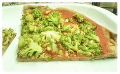 El método Montignac: Pizza integral de salteado de brocoli - GP