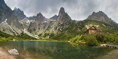 Inn at Zelené pleso, Tatra Mountains, Slovakia High Tatras, Tatra Mountains, Big Country, Homeland, The Good Place, Castle, Europe, Earth, Sky