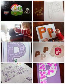 Mom's Tot School: The Letter P